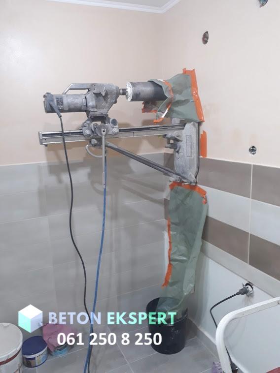 Mašina za dijamantsko bušenje betona zida