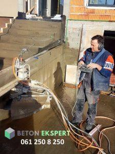 secenje betona