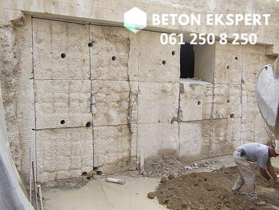 Secenje betona velike debljine