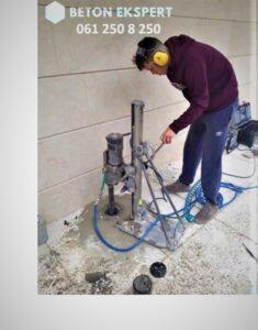 cena bušenja betona
